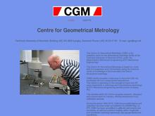 Center for Geometrisk Metrologi - CGM ApS