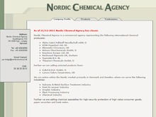 Nordic Chemical Agency